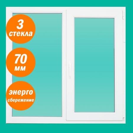 Дешевые окна в дом из пластика