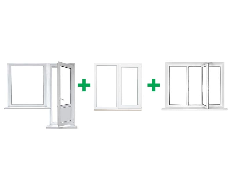 Металлопластиковые окна Запорожье для двухкомнатной квартиры