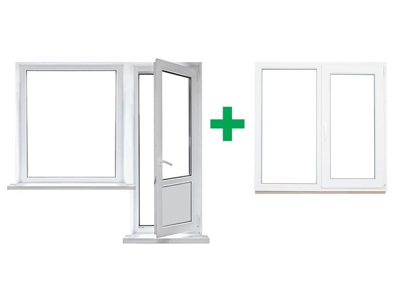 Окна Запорожье для квартиры однокомнатной