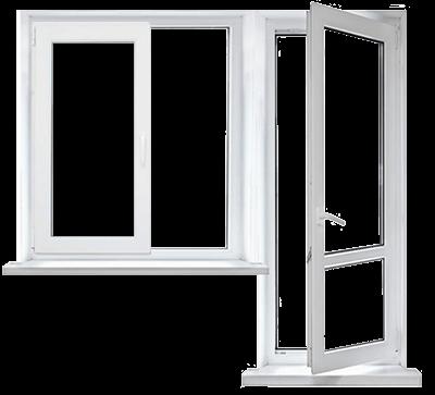 Цена балконного блока с окном в Запорожье