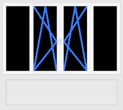 Цена окна для балкона в Запорожье