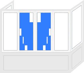 Цена балконной рамы в Запорожье