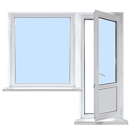 Балконный блок недорого в Запорожье