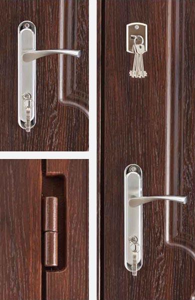 Двери металлические Дельта