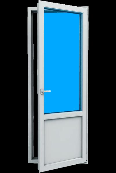 Двери металлопластиковые балконные в Запорожье