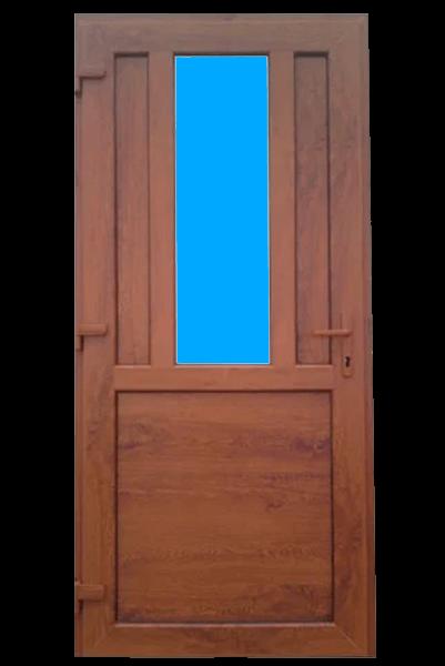 Двери пластиковые входные в Запорожье