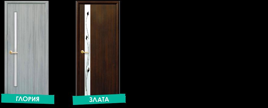 Межкомнатные двери Квадра в Запорожье
